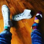 Happy Socksの靴下をアクセントに。メンズおすすめコーデ20選