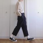 白い靴下なのに大人っぽく!オシャレ上級者の白ソックスコーデ術が知りたい!