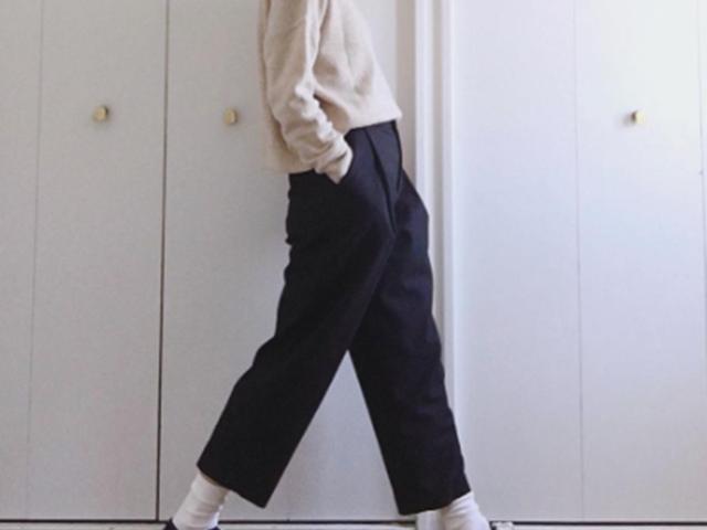 白い靴下なのに大人っぽく! オシャレ上級者の白ソックスコーデ15選