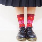 マリメッコの靴下がかわいい。ウニッコのソックスコーデも見せます!