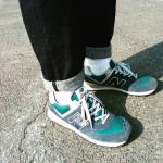 ニューバランス574どう履くのが正解? 男女別コーデの傾向と対策!