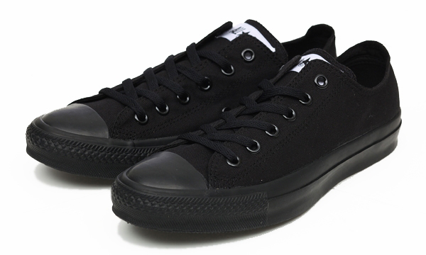 CONVERSE ALL STAR OX BLKモノクローム