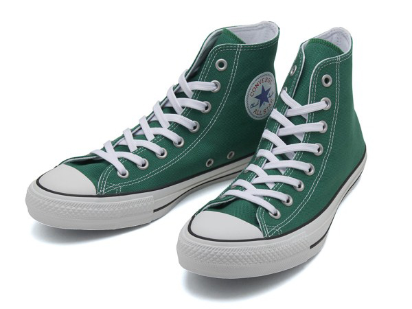 CONVERSE ALL STAR 100 COLORS HI GREEN