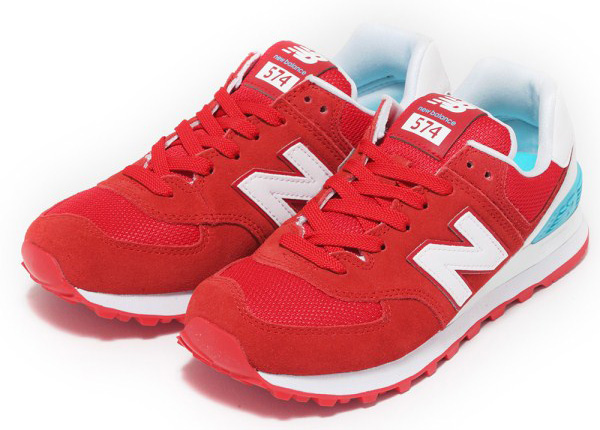 new balance WL574CNC 17SS RED/WHITE(CNC)