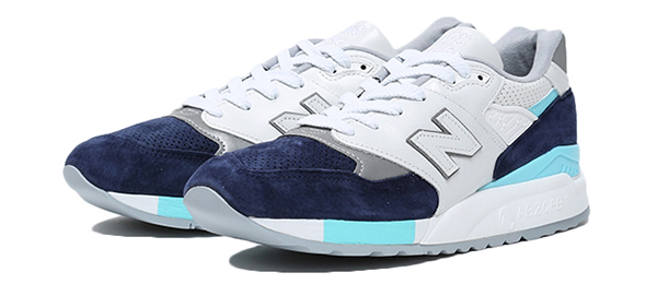 New Balance M998WTP WHITE/NAVY(WTP)