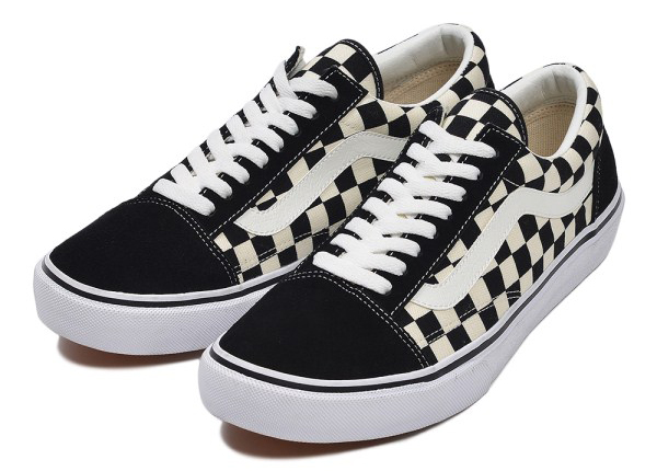OLD SKOOL DX BLK/WHT CHECK