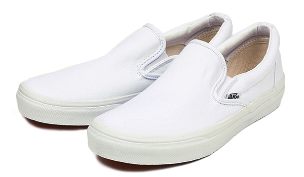 SLIP-ON T.WHITE