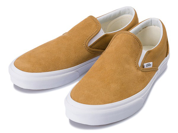 CLASSIC SLIP-ON 17FA (SUEDE)BRONZE