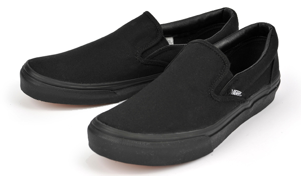 SLIP-ON M.BLACK