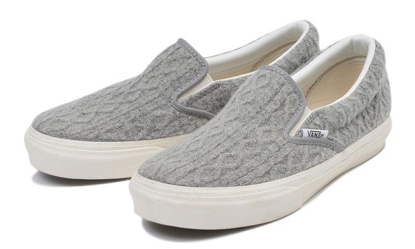 SLIP-ON CROCHET 15FA GRAY