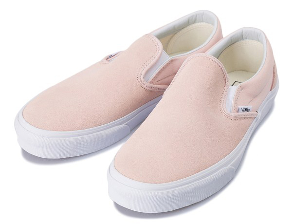 CLASSIC SLIP-ON 17FA (SUE)SEPIA ROSE