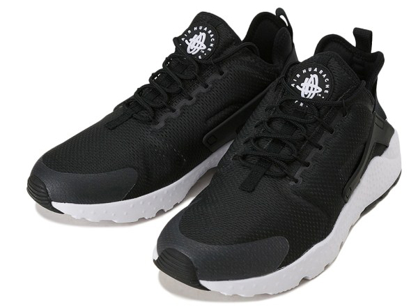 NIKE AIR HUARACHE RUN ULTRA 008BLK/BLK