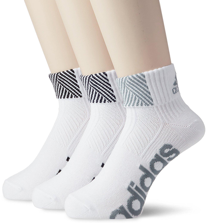 adidas リニアロゴ ショートソックス