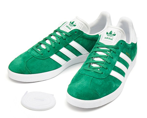 GAZELLE GREEN/WHITE/GLD