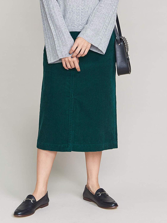 BEAUTY&YOUTH コーデュロイタイトスカート
