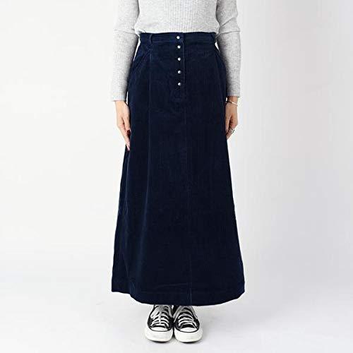 liflattie ships コーデュロイドットボタンスカート