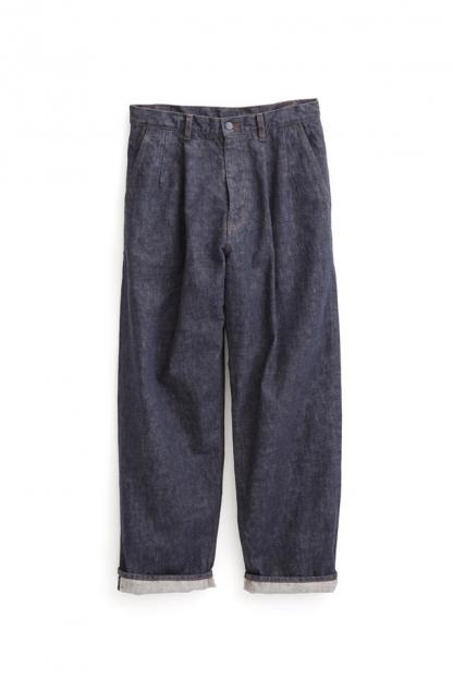 Graphpaper Colorfast Denim Two Tuck Pants