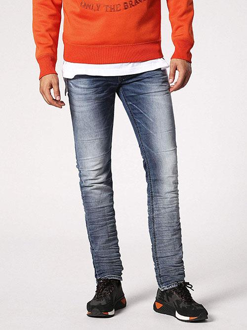 DIESEL ジョグジーンズ スリムスキニー THAVAR-NE Sweat jeans