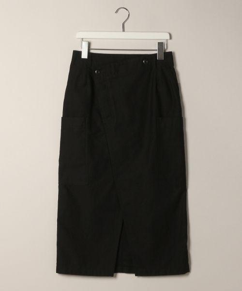 LOWRYS FARM ミリタリータイトスカート