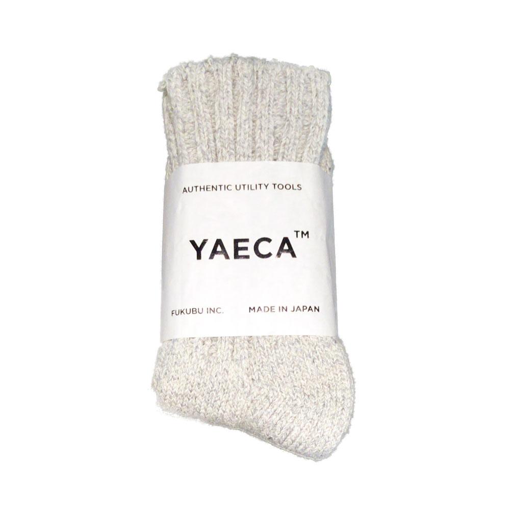 YAECA コットンシルクソックス