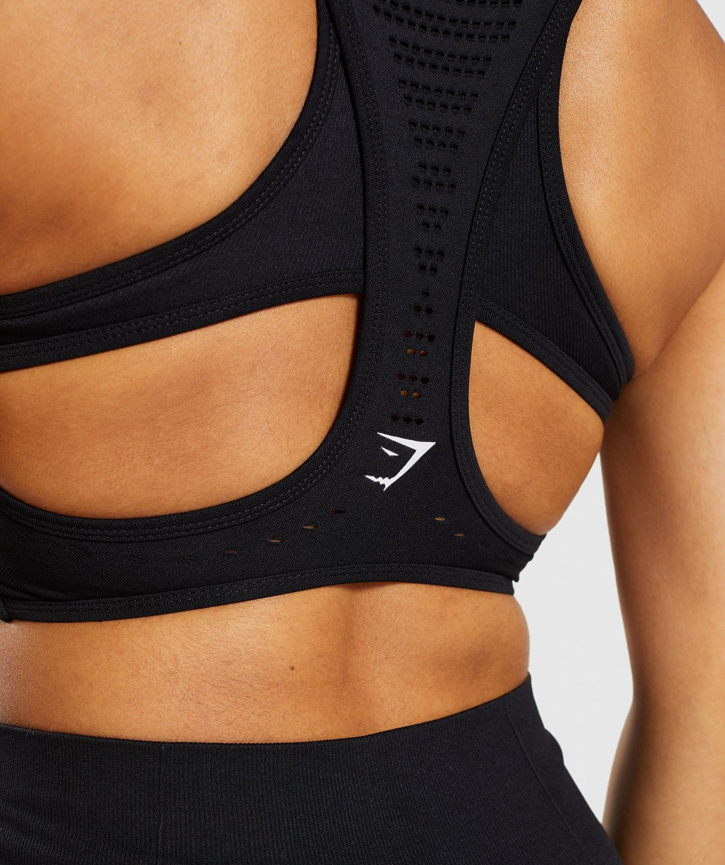 Gymshark FLAWLESS KNIT SPORTS BRA