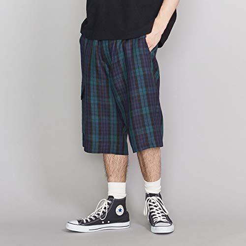 BEAUTY&YOUTH UNITED ARROWS TTN CHECK POC SHORT