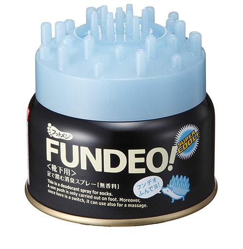 フットメジ FUNDEO! 足で踏む消臭スプレー