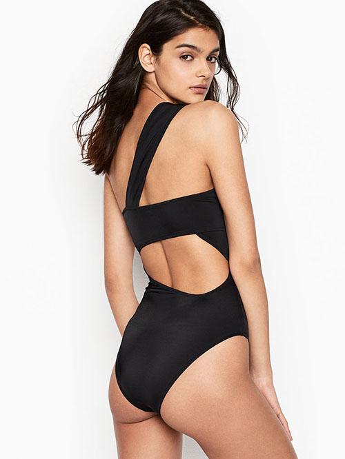 Victoria's Secret swimwear One-shoulder Cutout One-piece