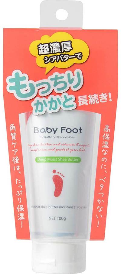 Baby Foot ディープモイストシアバター