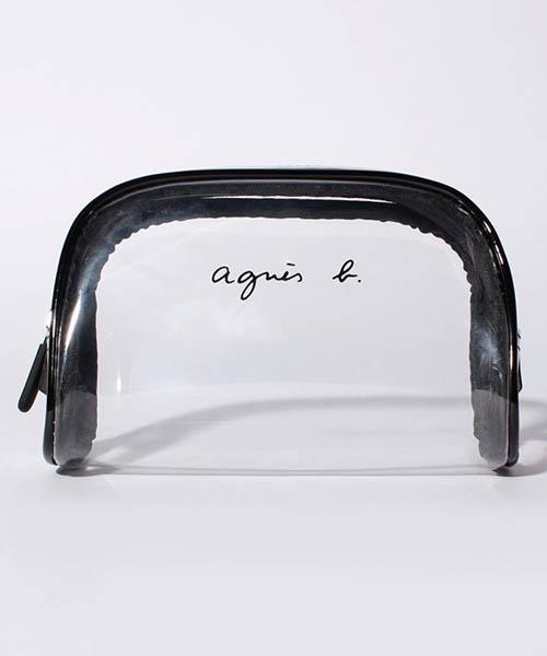 agnès b. VOYAGE FEMME LP02-01 ロゴポーチ