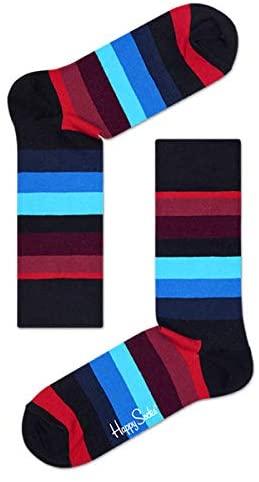 Happy Socks STRIPE クルー丈ソックス