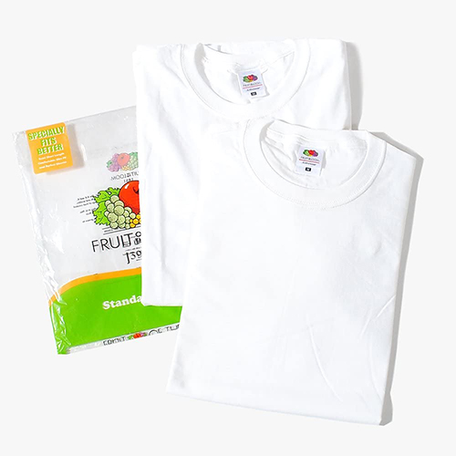 FRUIT OF THE LOOM Tシャツ 2枚セット