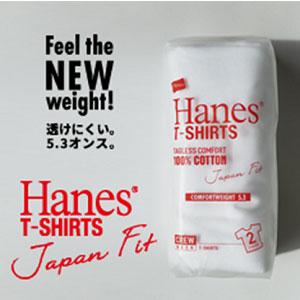 Hanes Japan Fit ジャパンフィット 2枚組