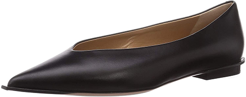 PELLICO ANIMA10 POINTED WIDE EDGE PUMPS FLAT