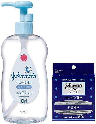 JOHNSON'S ジョンソン ベビーオイル