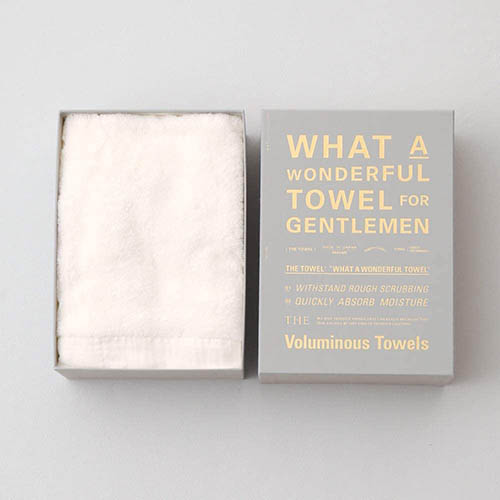 THE TOWEL FOR GENTLEMEN バスタオル