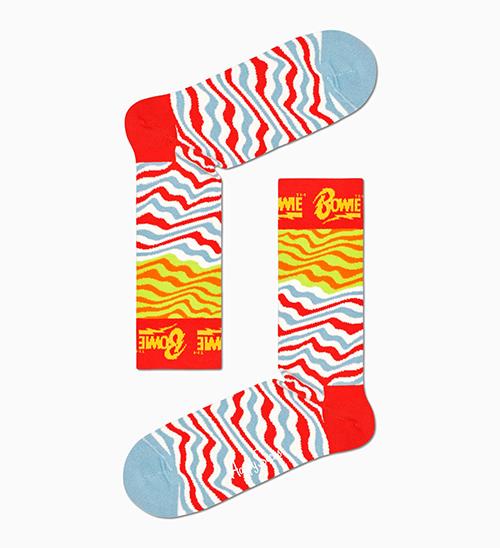 Ziggy Stardust Sock 柄ソックス