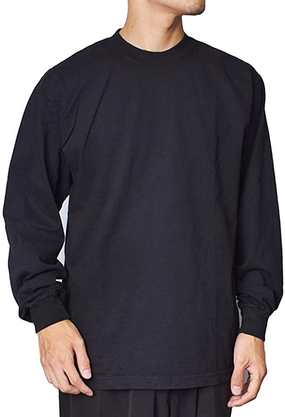 LOS ANGELES APPAREL 6.5oz L/S Garment Dye T-Shirt