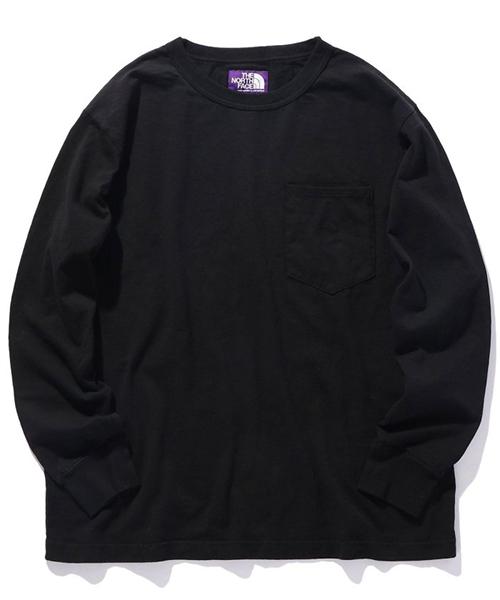 THE NORTH FACE PURPLE LABEL 7oz ロングスリーブポケットTシャツ