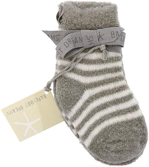 Barefoot dreams COZYCHIC LITE INFANT SOCK SET